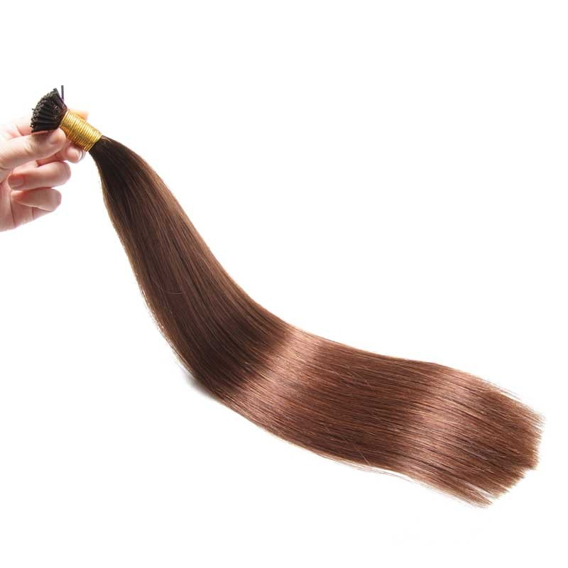 Nadula Stick Tip Extensions Super Soft Hair Extensions With Colored Tips 100g #4