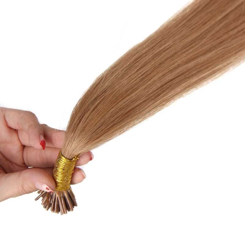 Nadula Stick Tip Extensions Super Soft Hair Extensions With Colored Tips 50g #27