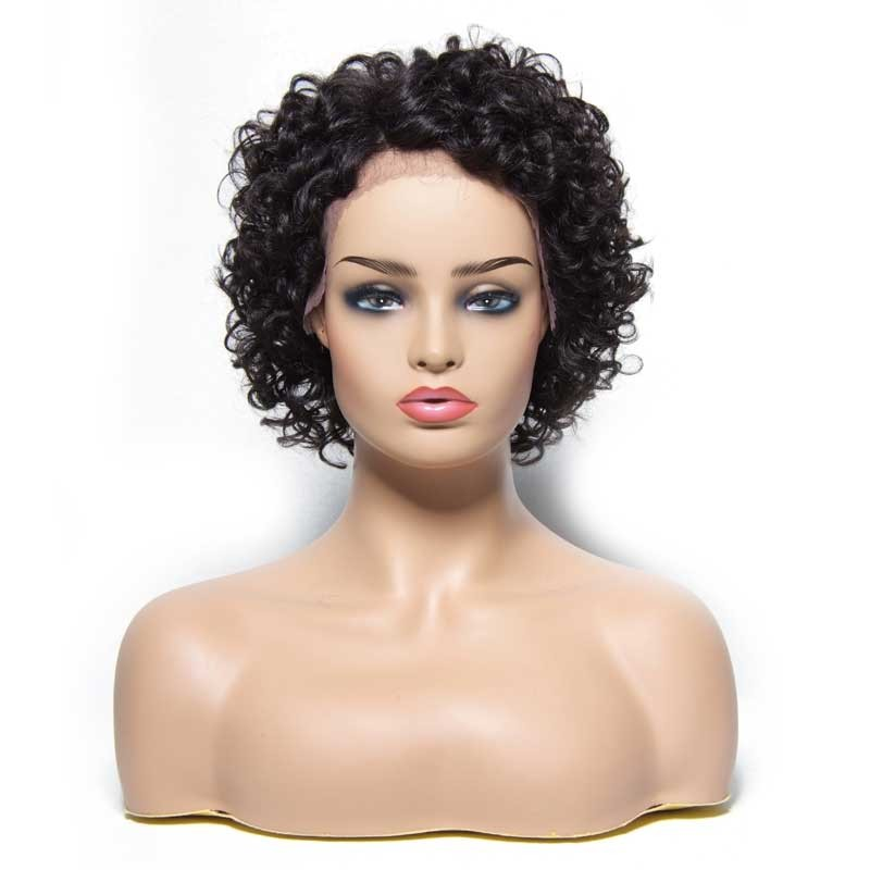 Nadula Human Hair Wigs For Sale Remy Silk Top Lace Front Wigs Short Human Hair Wigs
