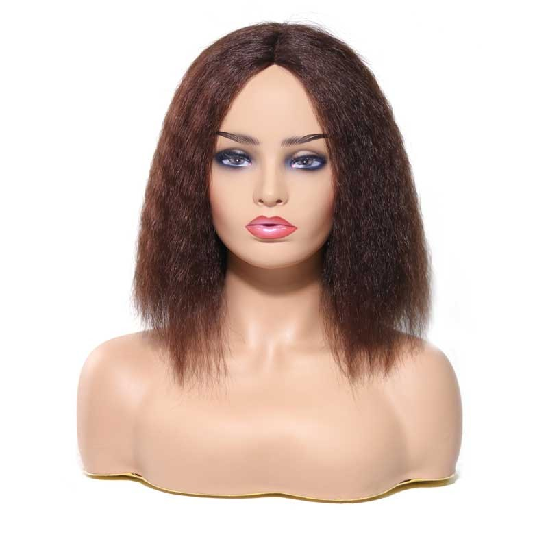 Nadula High Quality Wigs Human Hair Lace Front Wigs With Baby Hair Yaki Straight Human Hair Wigs