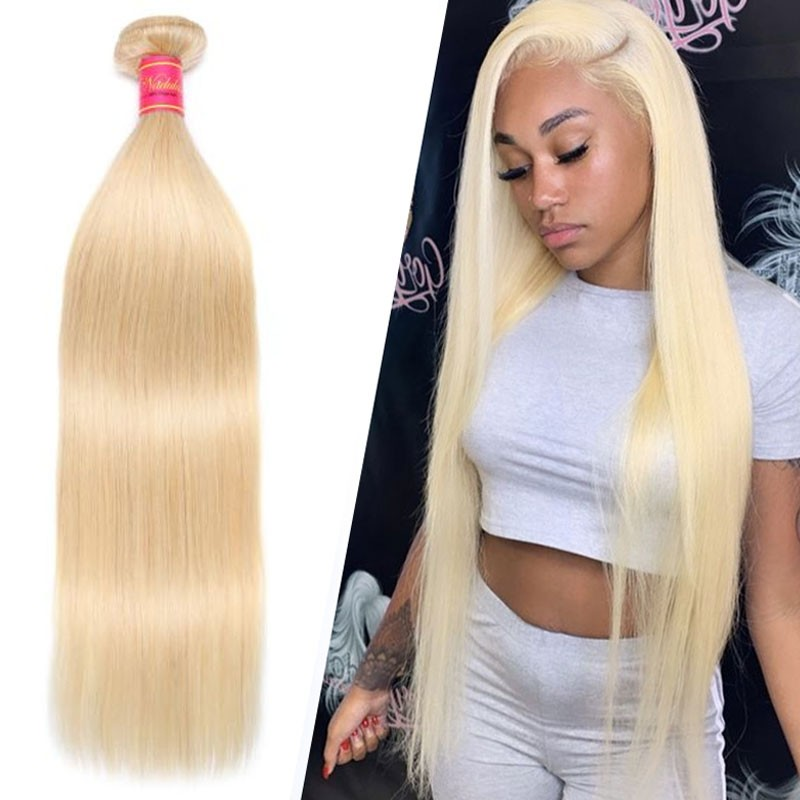 16-24 Inch 1 Piece 613 Color Straight Hair