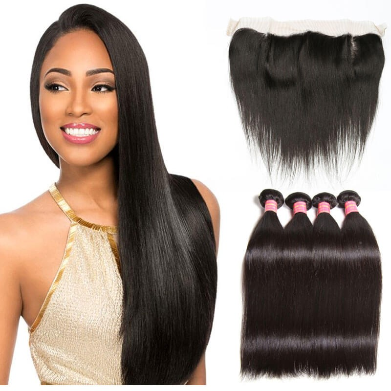 hair with closure