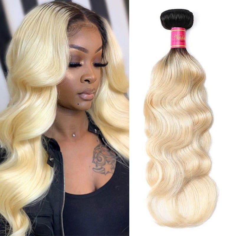 1 Bundle 2 Tone Color Human Hair Extension