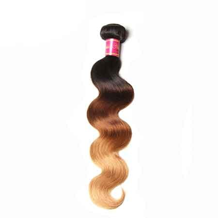 brazilian body wave ombre hair extensions