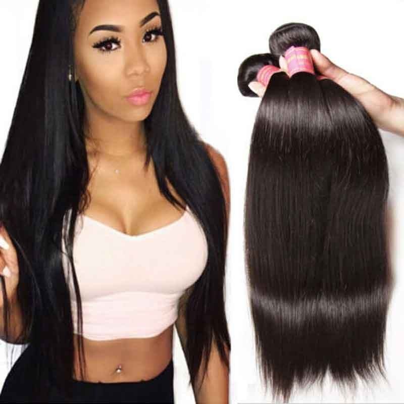 bundles of straight peruvian hair