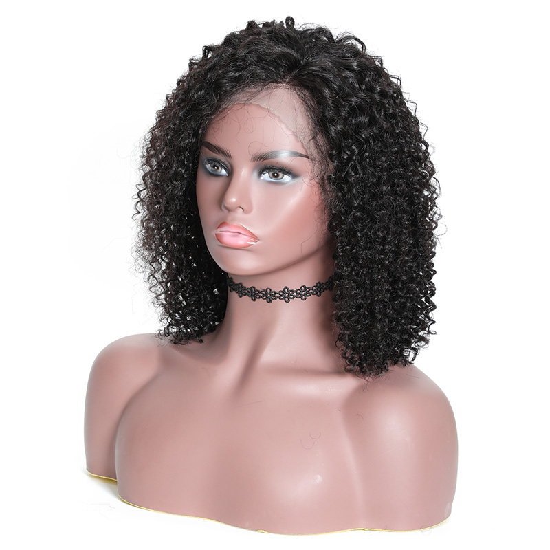 Nadula Short Bob Wig Lace Frontal 130% Density Wig Jerry Curly