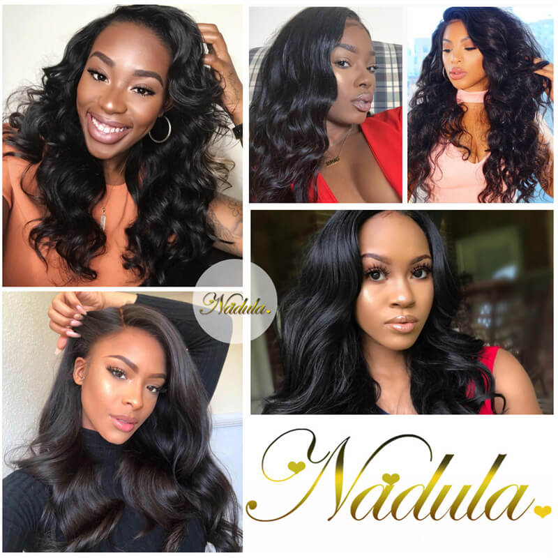Nadula Virgin Peruvian Body Wave Hair 3 Bundles