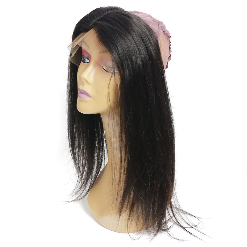 Nadula 360 Lace Frontal Closure Straight Hair Middle Part 100