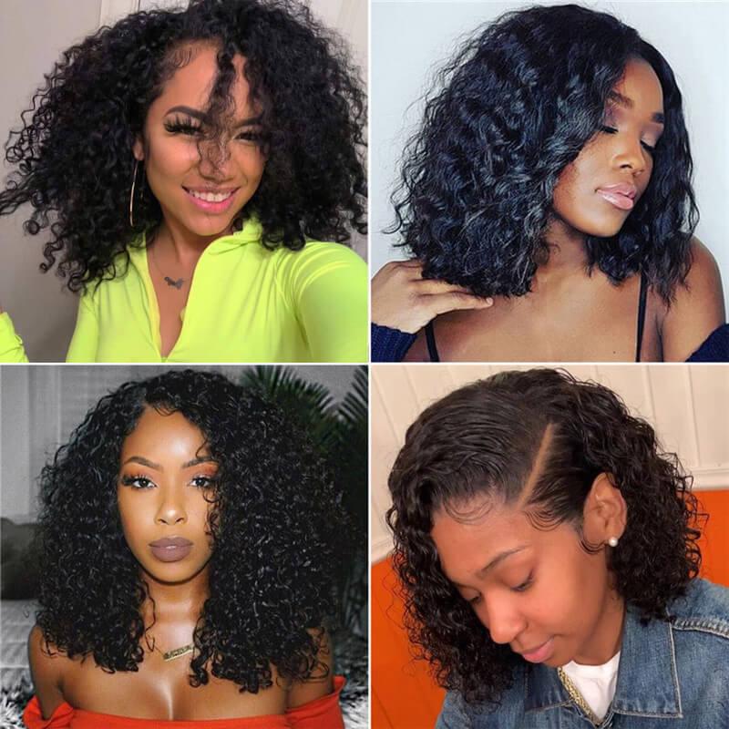 Nadula Unprocessed Virgin Human Hair Curly Hair Bundles