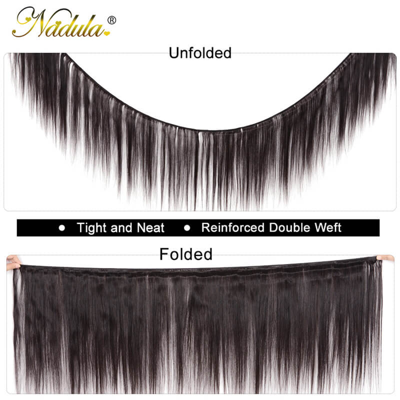 Malaysian Straight Hair Weave 4 Bundles