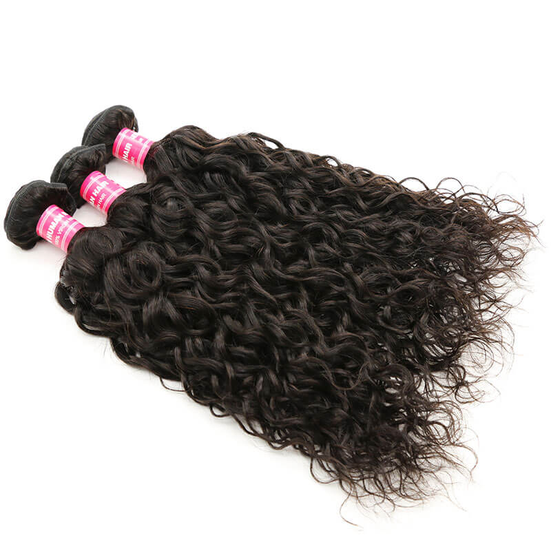 3 bundles brazilian water wave