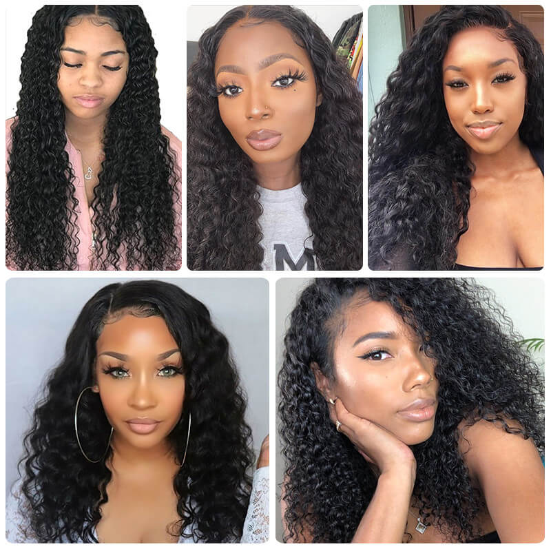 Nadula Deep Wave Virgin Hair Weave Customers Share Pictures