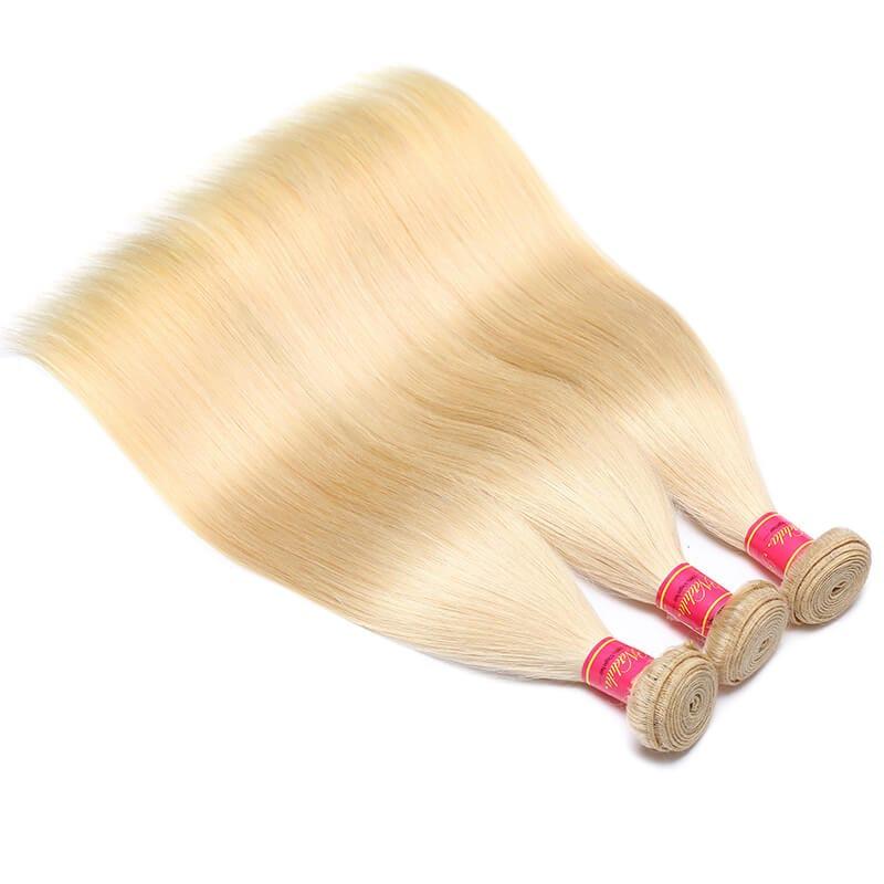 Nadula Straight Hair 613 Blonde Virgin Human Hair Extension