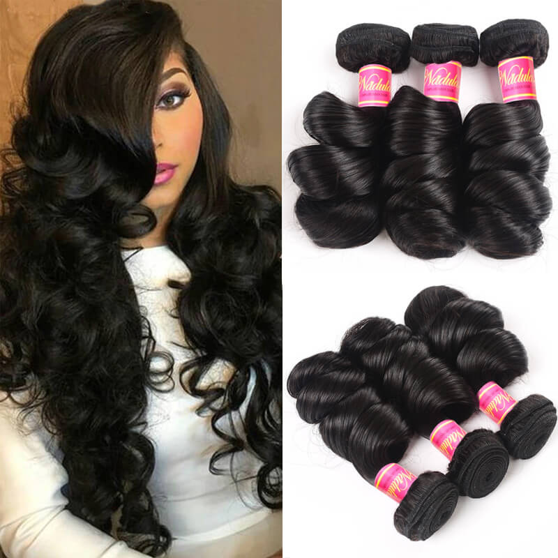 Nadula Quality Brazilian Virgin Hair Loose Wave