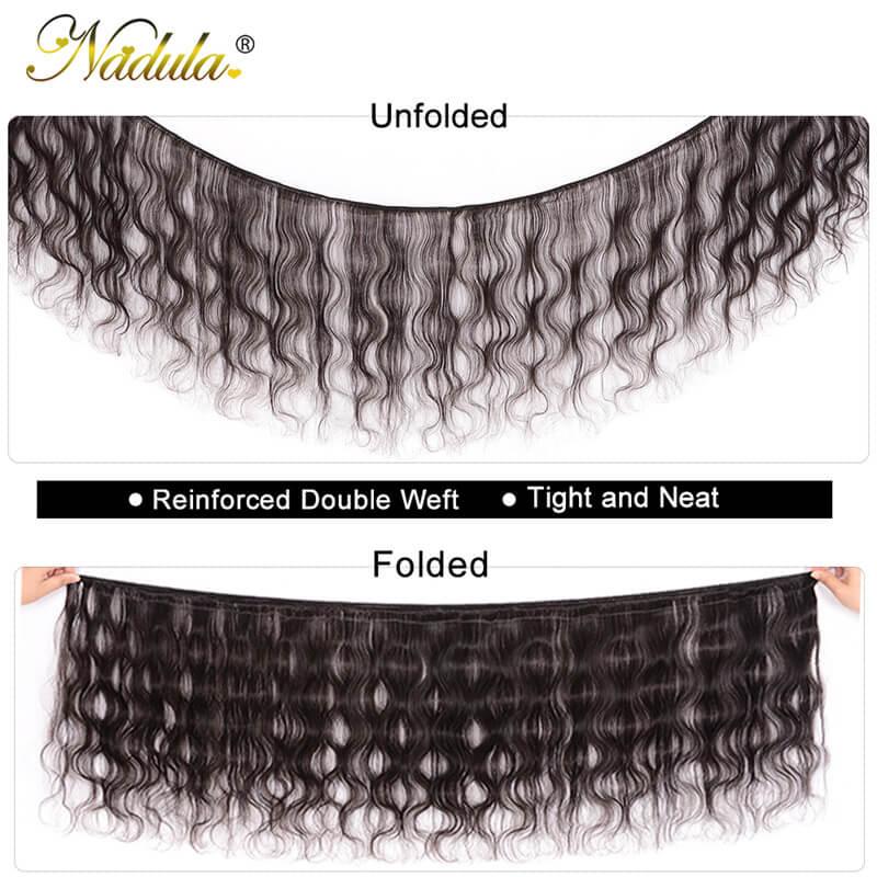 Nadula Quality Malaysian Hair 4 Bundles Pcs Natural Black Virgin Malaysian Body Wave