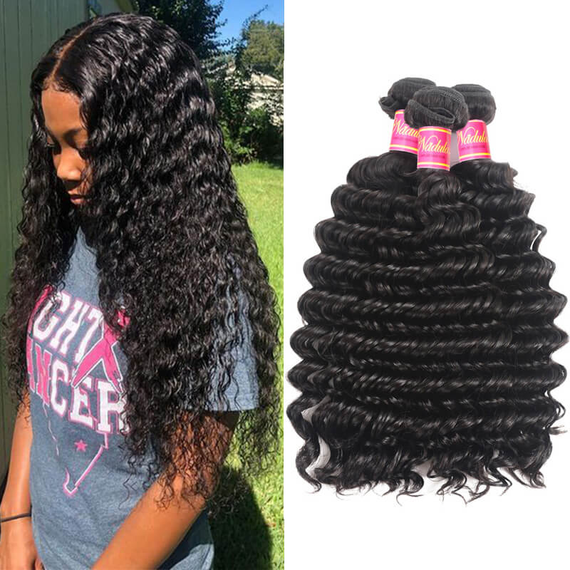 Nadula Quality Virgin Brazilian Deep Wave Hair