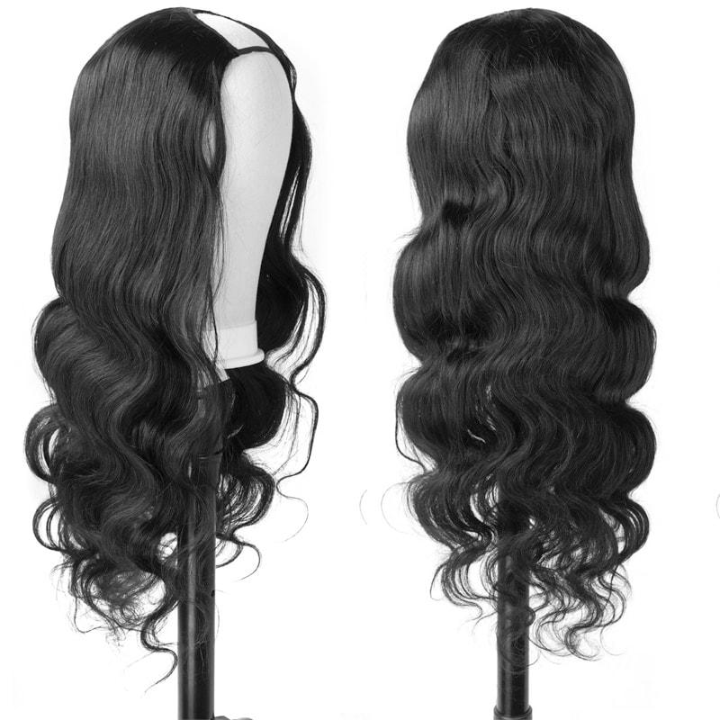 Nadula U Part Wig Body Wave U Part Human Hair Wigs 150% Density
