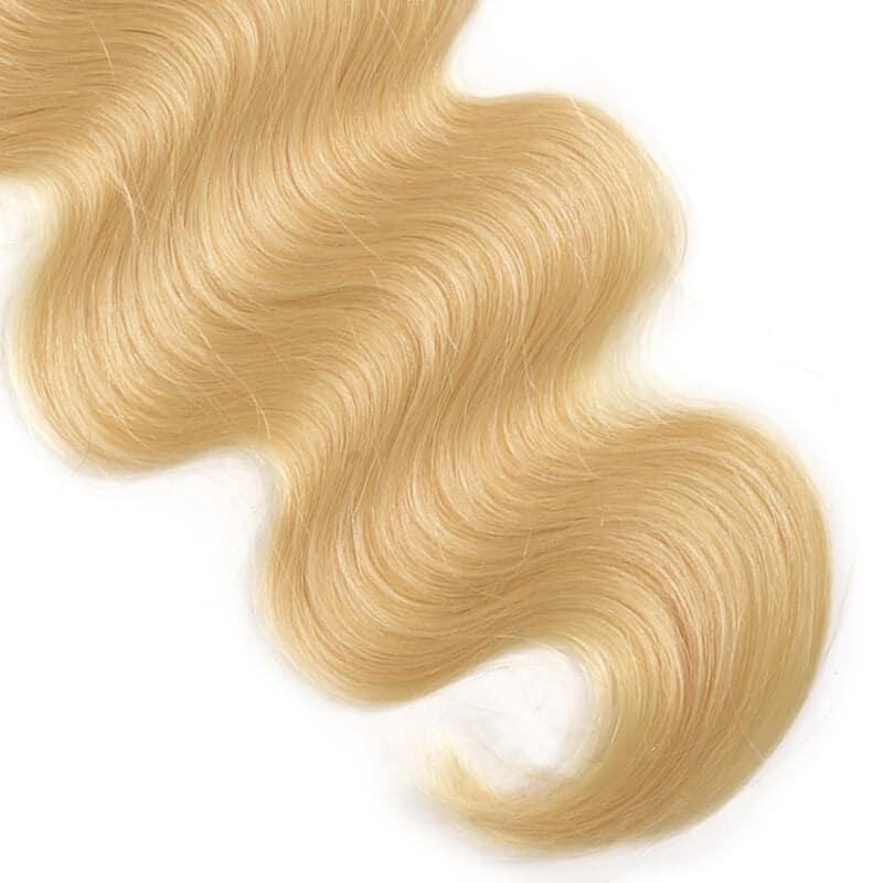 Nadula Virgin Hair 1B/613 Blonde Ombre Human Hair Body Weave