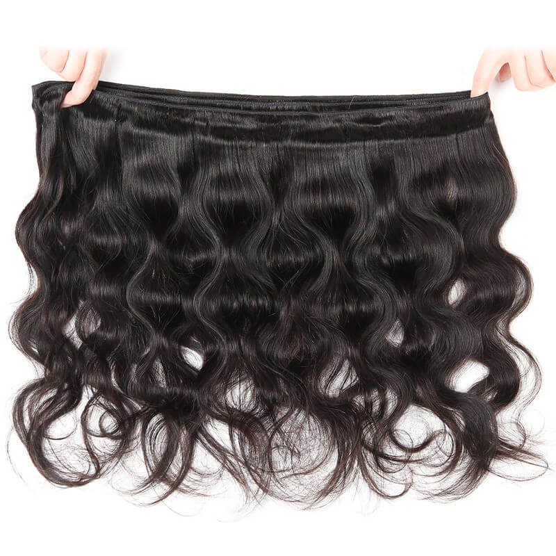 Nadula Virgin Malaysian Body Wave 3 Bundles Human Hair Weave