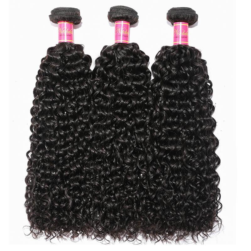 Nadula Wholesale 3 Bundles of Malaysian Jerry Curly Hair Weave