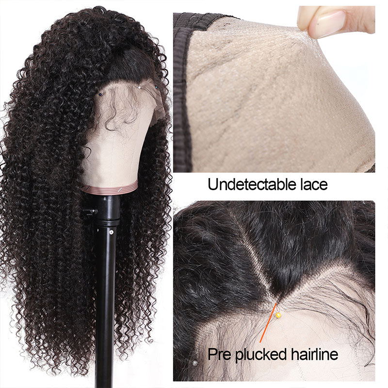 Glueless Pre-Plucked Lace Wig