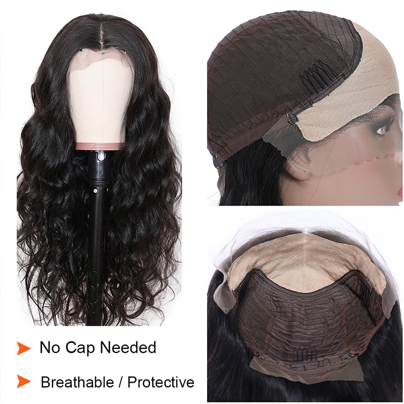 Fake Scalp Lace Front Wig
