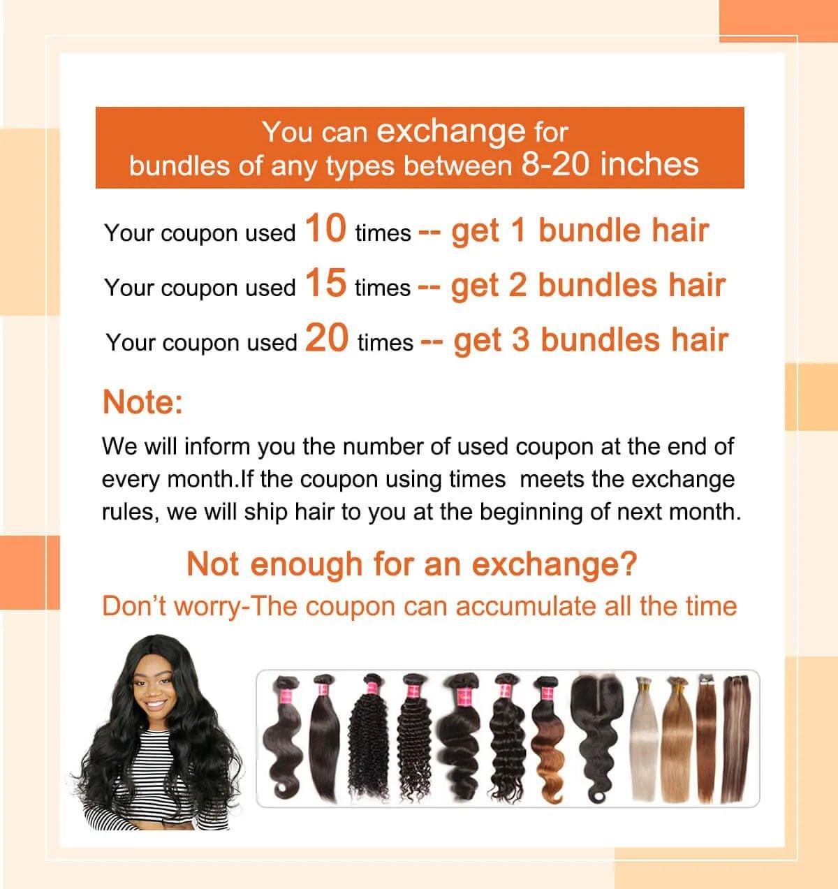 ways to get free hair bundles