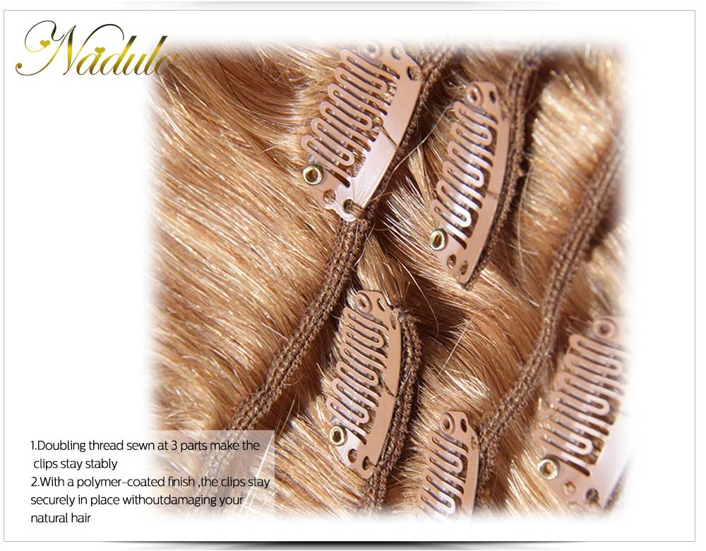 Nadula Best Clip In 100 Virgin Human Hair Extensions Top Brands 100g