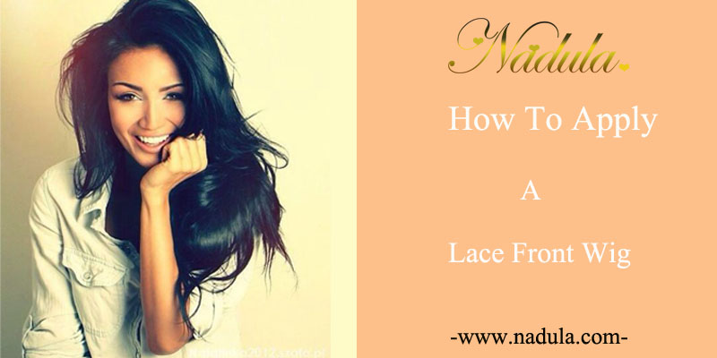 How to apply a lace front wig