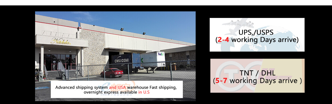 Fast shipping, overnight shipping available for US customers