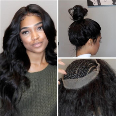 install 360 lace frontal