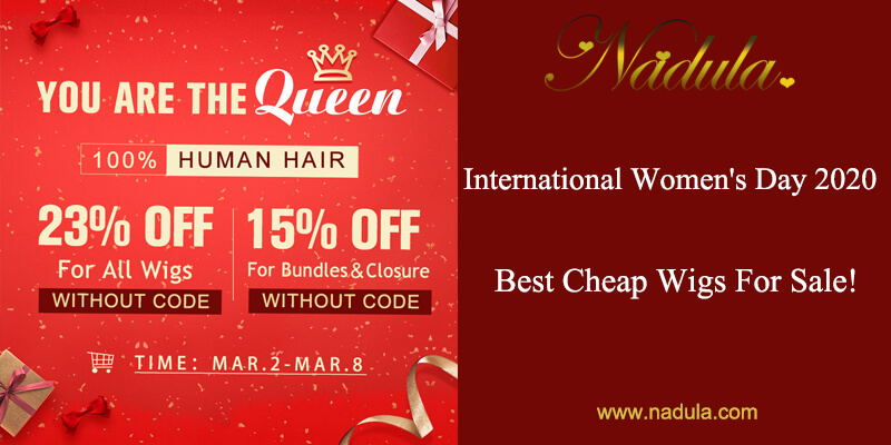 International Women's Day 2020: Best Cheap Wigs For Sale!