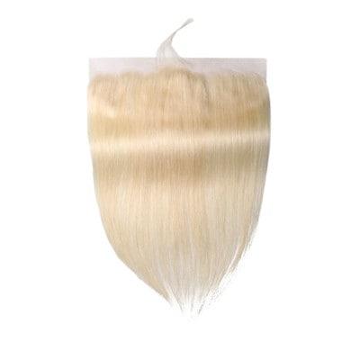 blonde human hair closure