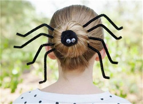 halloween hairstyle