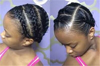 braid long hair for wig