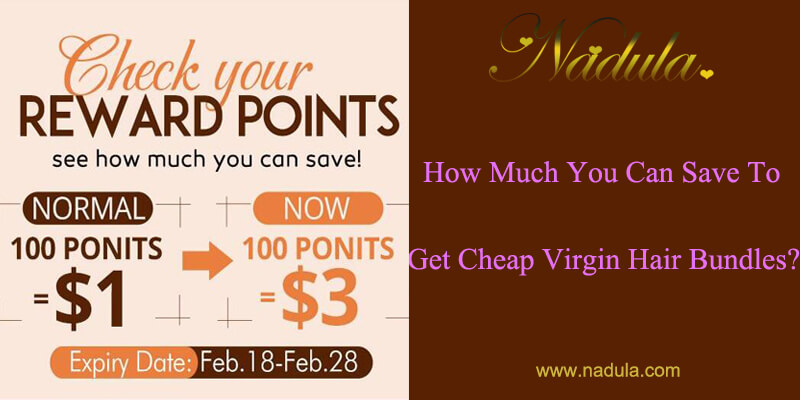 How Much You Can Save To Get Cheap Virgin Hair Bundles?
