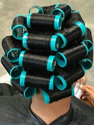 curl Brazilian hair