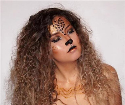 lioness hairstyles for Halloween