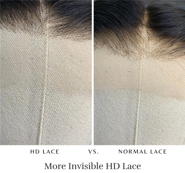 hd lace and normal lace