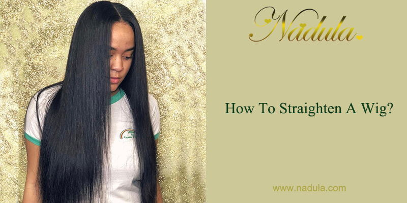 How To Straighten A Wig?