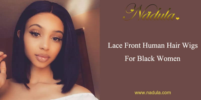 Human Hair Lace Front Wigs For Black Women