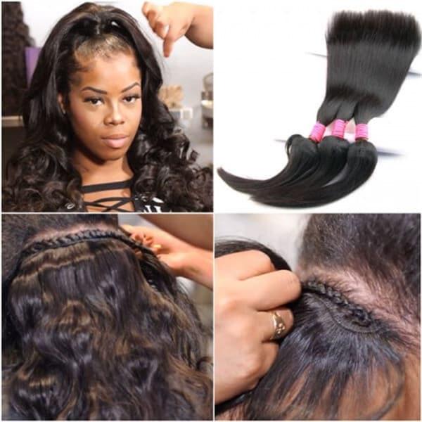 How To Install Hair Bundles Nadula