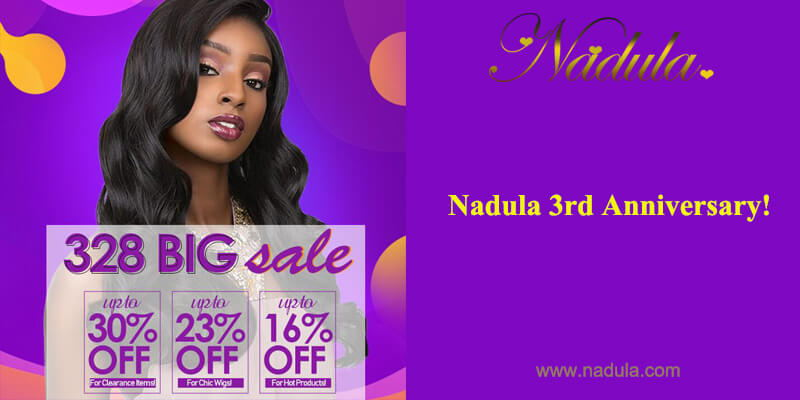 Up To 30% Off - Nadula 3rd Anniversary!