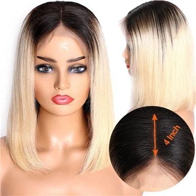 short blonde wigs for black women