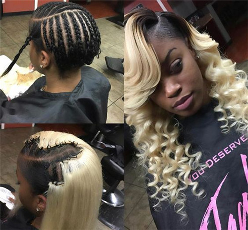 How To Sew In Weave?