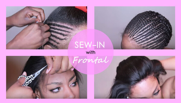sew in lace frontal