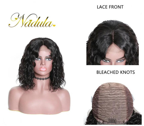 wet and wavy lace front wigs