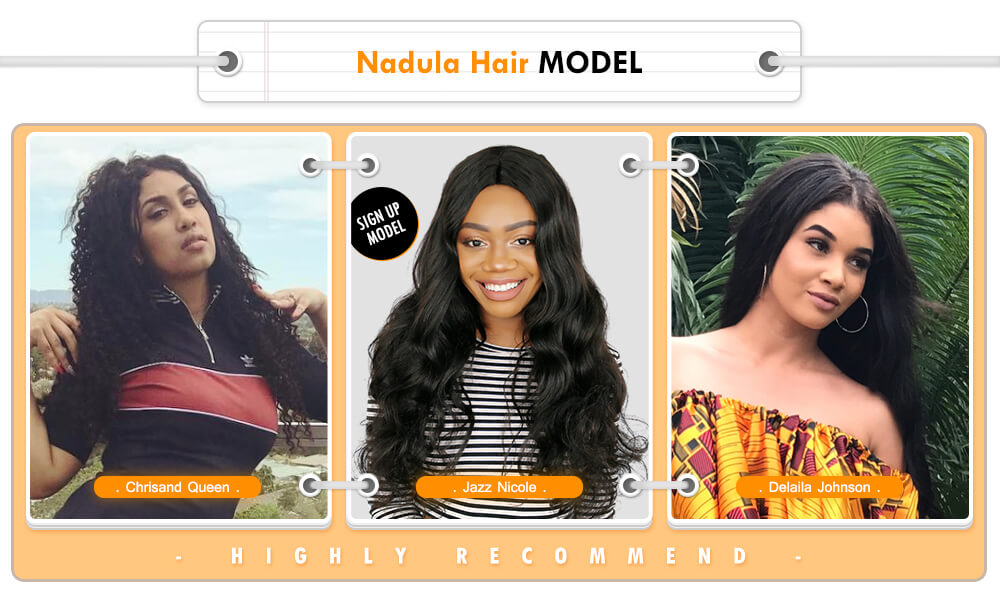 nadula hair model