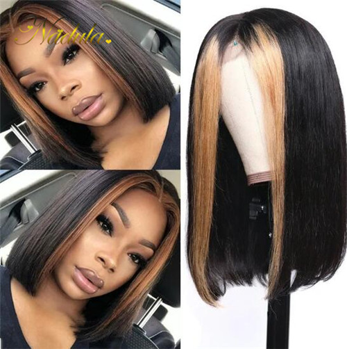 blonde highlights 13x4 lace front wig
