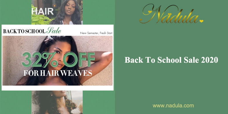 Discount Hair Store Promotion-Back To School Sale 2020